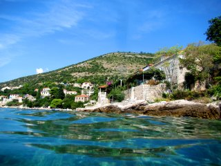 Studio on the beach &private terrace &amazing view - Dubrovnik vacation rentals