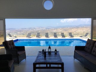 Uber Cool Private Villa with Spectacular Views - Stroumbi vacation rentals