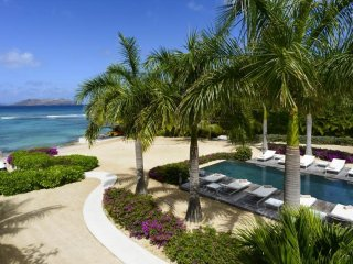Luxury 5 bedroom St. Barts villa. Beach access and snorkeling in front of villa! - Marigot vacation rentals