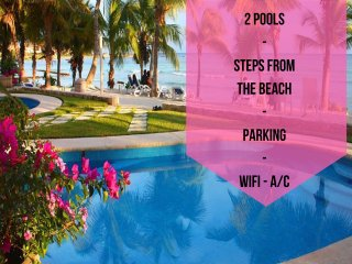 Riviera Maya Haciendas - Studio Steps From Beach - Puerto Aventuras vacation rentals