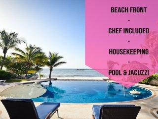 Riviera Maya Haciendas - Villa Nautica  BeachFront - Puerto Aventuras vacation rentals