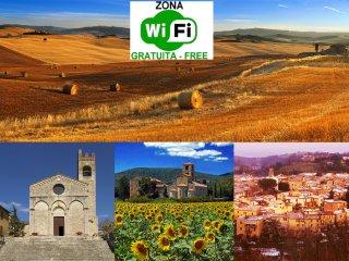 Comfort vicino alle Crete senesi, doppi servizi! - Asciano vacation rentals