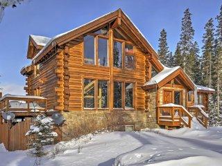 HGTV House Hunters Breckenridge Home! - Rustic Get Away True Log Cabin w/ Hot Tub and Stunning Views - Breckenridge vacation rentals