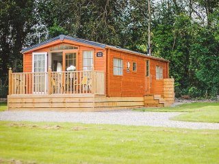 BROAD DOWN, ground floor detached lodge, dog-friendly, decked area, in Berrow, Ref 943823 - Birtsmorton vacation rentals
