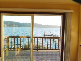 Overlooking clearlake from the living room - Clearlake vacation rentals