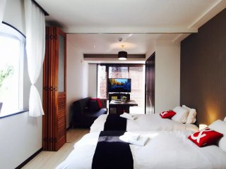 5mim Sapporo Sta Cozy 2 Beds free Kids#4656885 - Sapporo vacation rentals