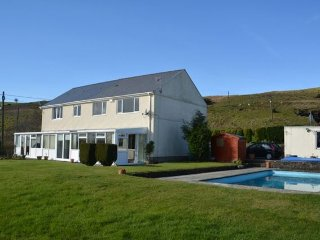 Nice House with Internet Access and Shared Outdoor Pool - Cwm-twrch Uchaf vacation rentals