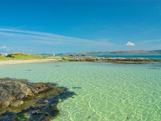 Beachy,Occean Views, 2 mins to best beach on Gigha - Gigha vacation rentals