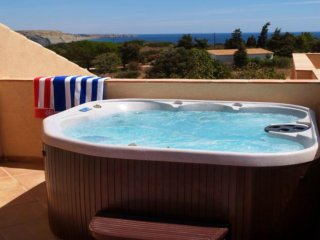 Mar da Luz apartment with hot tub and sea view - Luz vacation rentals
