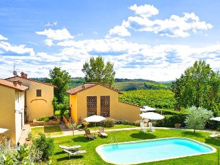 Lovely Villa Riccardo in Chianti - Montespertoli vacation rentals