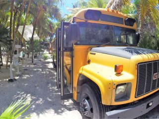 GLAMPING in a SCHOOL BUS Playa Akun by hippieschic - Tulum vacation rentals