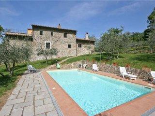 6 bedroom Villa in Rinforzati, Tuscany, Italy : ref 2373459 - Poggio alla Croce vacation rentals