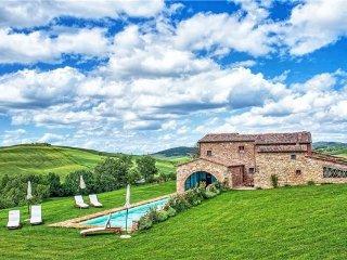 8 bedroom Villa in Pienza, Tuscany, Val d  Orcia, Italy : ref 2373802 - Pienza vacation rentals