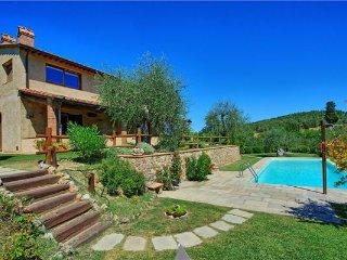 3 bedroom Villa in Certaldo, Tuscany, Certaldo, Italy : ref 2374384 - Certaldo vacation rentals