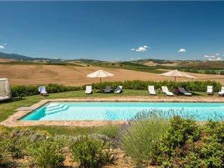 6 bedroom Villa in Pienza, Tuscany, Val d  Orcia, Italy : ref 2374614 - Pienza vacation rentals