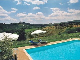 3 bedroom Villa in San Gimignano, Tuscany, Italy : ref 2374670 - San Gimignano vacation rentals