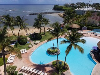 Beach front private suit. Stunning view! Remodeled - Dorado vacation rentals