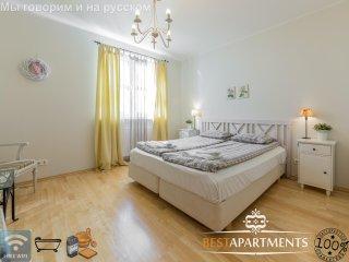 2 BDRM Tallinn apartment for 6 with bathtub & sauna - Tallinn vacation rentals