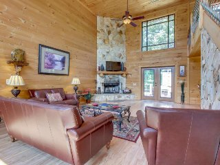 Dog-friendly cabin w/partial mountain views, private hot tub, sauna, pool table - Sautee Nacoochee vacation rentals