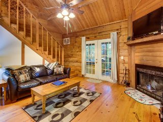 Romantic & dog-friendly log cabin in the woods with private hot tub - Sautee Nacoochee vacation rentals