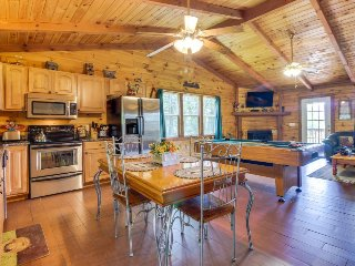 Charming, dog-friendly cabin with private hot tub & lovely mountain views! - Sautee Nacoochee vacation rentals