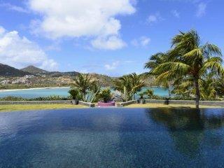 Luxury 6 bedroom St. Barts villa. Panoramic Views! - Petit Cul de Sac vacation rentals