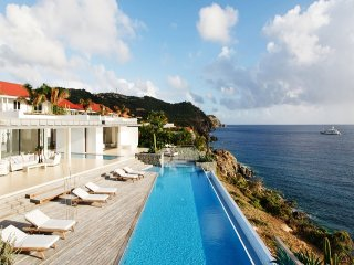 Luxury 6 bedroom St. Barts villa. Full ocean view! - Gustavia vacation rentals