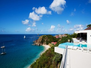 Luxury 5 bedroom St. Barts villa. Great views of the island, ocean and sunset! - Lurin vacation rentals