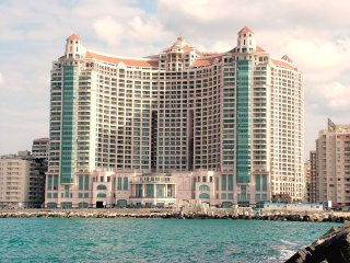 Luxury Furnished Large Apartment with a Sea view - Alexandria vacation rentals