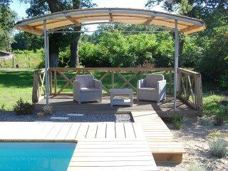 Grande maison de vacances avec piscine chauffée4* - Pontenx-les-Forges vacation rentals