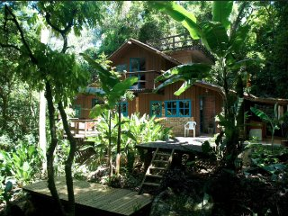 Enchanting forest house by the river - Lagoa da Conceicao vacation rentals