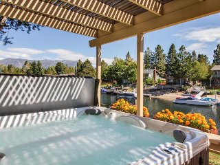 Waterfront retro-modern home w/ private hot tub, shared pools & beach access! - South Lake Tahoe vacation rentals