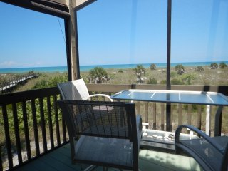 Beachfront Condo with panoramic views of the Gulf - Little Gasparilla Island vacation rentals