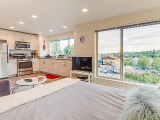 Two well-furnished dog-friendly studios boast incredible city views! - Seattle vacation rentals