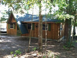 National Forest East TX Lake Ivanhoe Cedar Cabin + - Woodville vacation rentals