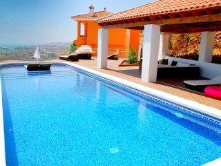 "Villa ""Rincon del Mar"" with panoramic beach view - Rincon de la Victoria vacation rentals"