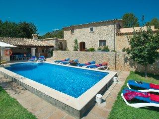 Sunbathe by the Pool in Villa Campet Gran - Pollenca vacation rentals