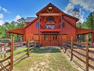 NEW! 2BR Dry Branch Barn-Apartment on 488 Acres! - Dry Branch vacation rentals