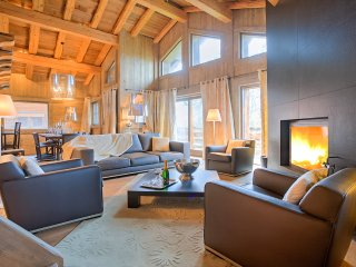 Spacious 5 bedroom Megève Villa with Internet Access - Megève vacation rentals