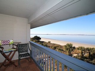 Savannah Beach & Racquet Club - Unit A318 - Panoramic Water Views - Smoking Permitted - Tybee Island vacation rentals