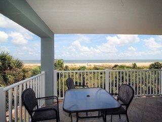Fort Screven Villas - Unit 201 - Spectacular Views of the Atlantic Ocean - FREE Wi-Fi - Tybee Island vacation rentals