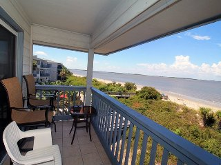 Savannah Beach and Racquet Club Condos - Unit B308 - Panoramic Water Views - Swimming Pool - Tennis - FREE Wi-Fi - Tybee Island vacation rentals