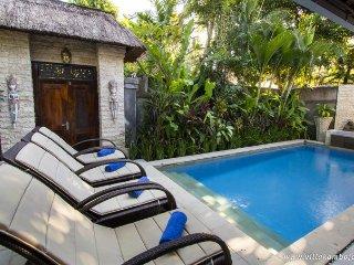 2 bdr Villa, own pool steep 66 street - Legian vacation rentals