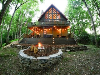 Timber Ridge nestled in the trees is a great place to enjoy the finer things! - Blowing Rock vacation rentals