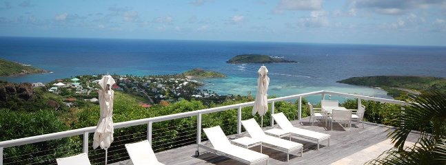 Villa Beaubijou really is a bijou residence in the hills of St Barts - Vitet vacation rentals