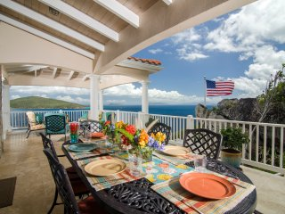Ideal for Couples & Families, Stunning Ocean Views, Short Drive to Magen's Bay - Peterborg vacation rentals