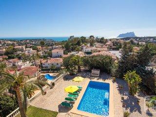 4 bedroom Villa in Benissa, Costa Blanca, Spain : ref 2287047 - La Llobella vacation rentals
