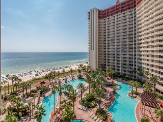 Fall Savings Await~ Gulf Front Condo w/ Balcony~Pools-Hot Tubs-Spa-Sauna-Gym! - Panama City Beach vacation rentals