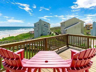 Fully Remodeled 3BR Ocean View at Lost Colony Steps from Beach - Sleeps 8 - Port Aransas vacation rentals
