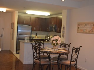 WINTER SPECIAL !! 1 BED SUITE IN LUXURY BUILDING, GYM,CLOSE TO TRAIN-16QE - Jersey City vacation rentals